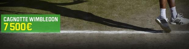 Tournoi de Wimbledon sur Unibet