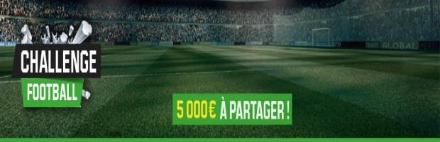 Challenge Football sur Unibet