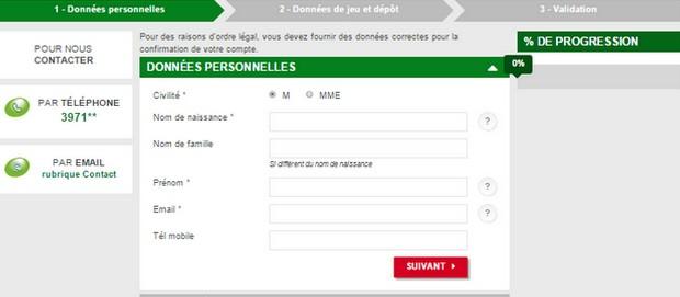 Bonus PMU.fr code promo