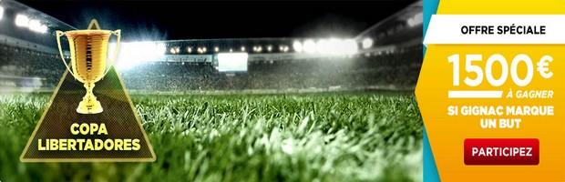 Copa Libertadores Betclic but Gignac