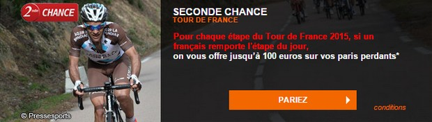 Seconde chance Tour de France avec PMU.