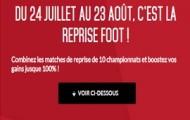 Reprise du Foot avec Zebet : Boostez vos gains en pariant sur la 1ère journée de chaque championnat