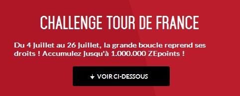 challenge tour de france Zebet