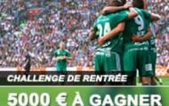 Relevez le « Challenge de la Rentrée » sur France Pari et gagnez une part des 5000 euros mis en jeu