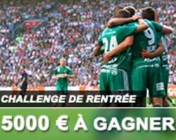 5000 euros à gagner sur France Pari