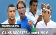 Offre COMBO sur l'US Open : pariez en combiné sur le tennis et recevez jusqu'à 200€ sur France Pari