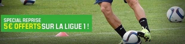 La reprise de la Ligue 1 sur Unibet