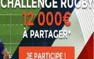 Challenge Coupe du Monde de Rugby : 12.000 euros à gagner sur ParionsWeb jusqu'au 31 octobre