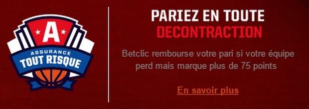 Offres championnat d'europe de basket sur Betclic