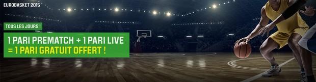 Unibet lance l'offre Eurobasket 2016