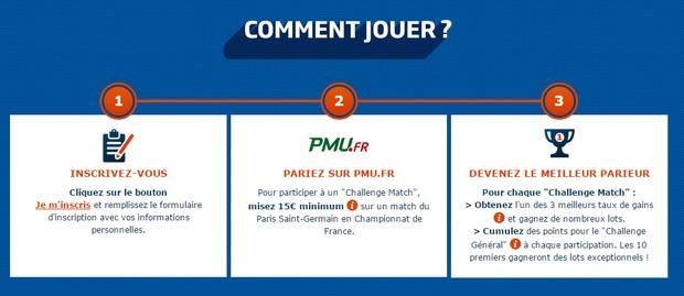 Paris Challenge Ligue : inscription
