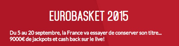 L'Euro Basket avec Zebet