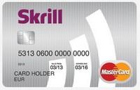 Demandez votre carte Mastercard Skrill