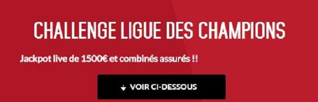 Le Challenge Zebet pour la cinquième journée de la Ligue des Champions
