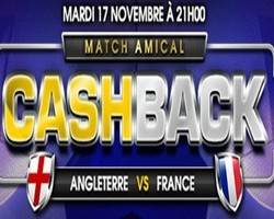 Match amical Angleterre/France Netbet.fr