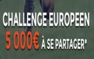 Pariez sur la 5ème journée des Coupes d'Europe : ParionsWeb met en jeu 5.000€ d'e-crédits