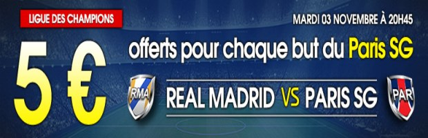 Real-PSG sur Netbet