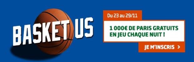 Challenge Basket US sur PMU Sport