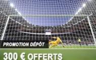 Faites un dépôt sur votre compte France Pari avant le 15 novembre et recevez jusqu'à 300 euros offerts