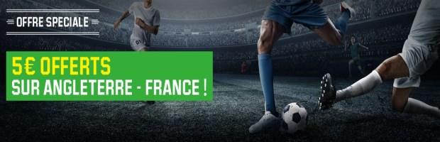 Angleterre - France sur Unibet