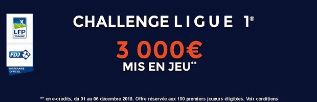 Challenge Ligue 1 sur ParionsWeb