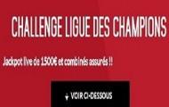 6ème journée de Ligue des Champions sur Zebet : 1.500€ en jeu + vos paris combinés et systèmes assurés