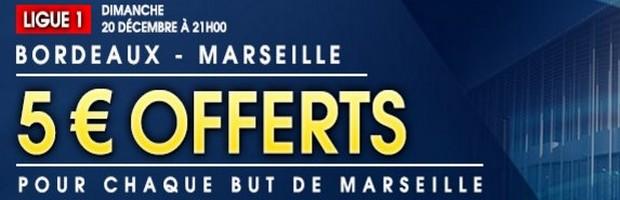 Offre Bordeaux-OM sur NetBet