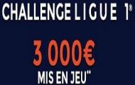 Challenge Ligue 1 sur ParionsWeb : 3.000 euros de paris gratuits à gagner du 01 au 06 décembre