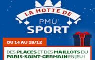 Des places et des maillots du club parisien à gagner en pariant avec PMU sur Caen - PSG en Ligue 1