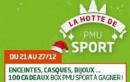 Challenge de Noël sur PMU : Pariez sur le rugby ou le basket pour gagner un des 100 bons cadeaux mis en jeu