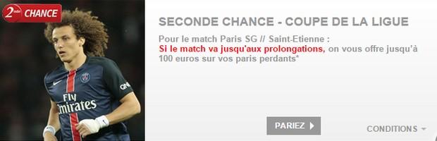 PMU PSG/Saint Etienne Seconde Chance
