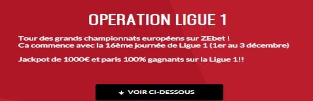 Challenge Ligue 1 sur Zebet