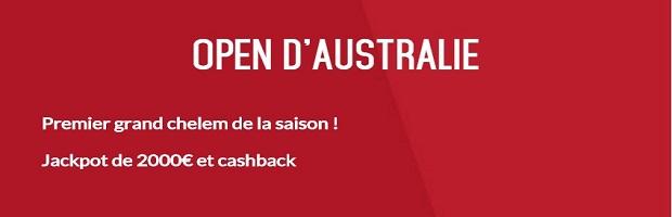 Challenge Open d'Australie avec Zebet