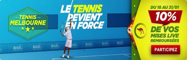 Tennis Melbourne Betclic