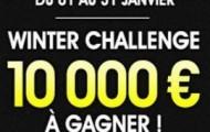 Le Winter Challenge Football de NetBet Sport : 10.000€ mis en jeu pour les 20 meilleurs parieurs de Janvier