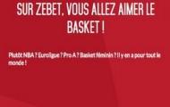 Semaine Basket sur Zebet.fr du 8 au 14 Février : votre 1er pari live NBA remboursé et vos combinés boostés