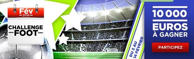 Challenge foot du 2 au 14 février