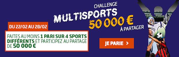 PMU challenge multisports de février