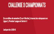 Pariez sur la Ligue 1, la Serie A et la Premier League avec Zebet : 1.500€ mis en jeu du 2 au 4 février 2016
