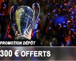 Jusqu'à 300 € de bonus sur France Pari