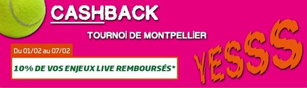 Tournoi ATP Montpellier PMU