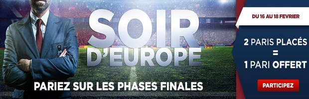 Les Coupes d'Europe de foot sur Betclic