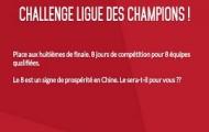 Challenge 1/8 finale de la  Ligue Des Champions sur Zebet : 4 cagnottes de 888€ et vos combinés boostés