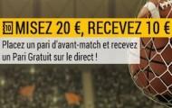 Pariez en avant match sur le résultat de Chelsea/PSG en LDC avec Bwin et recevez 10 euros pour parier en direct