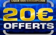 Ligue des Champions avec NetBet : vos paris perdants remboursés jusqu'à 20€ sur Real/Roma et Zenit/Benfica
