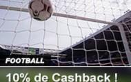 Pariez sur le football avec France Pari : 10% de Cashback offerts du 26 février au 6 mars 2016