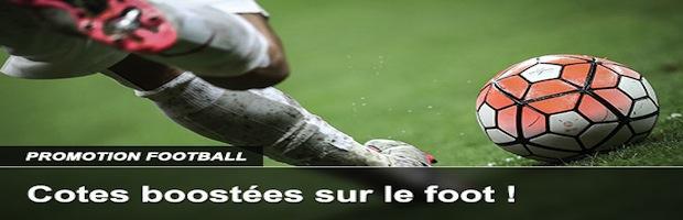Gains boostés sur le foot en mars avec France Pari
