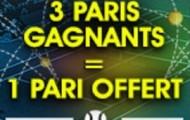 Misez sur le tournoi de tennis de Miami du 22 mars au 3 avril sur NetBet.fr : 3 paris gagnants = 1 pari de 5€ offert