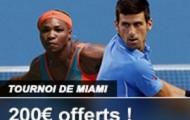 Pariez en combiné sur le Masters 1000 de Miami avec France Pari et bénéficiez d'un boost de gains