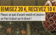 Misez 20€ sur le résultat de France-Russie avec Bwin et recevez 10 euros offerts pour parier sur le direct